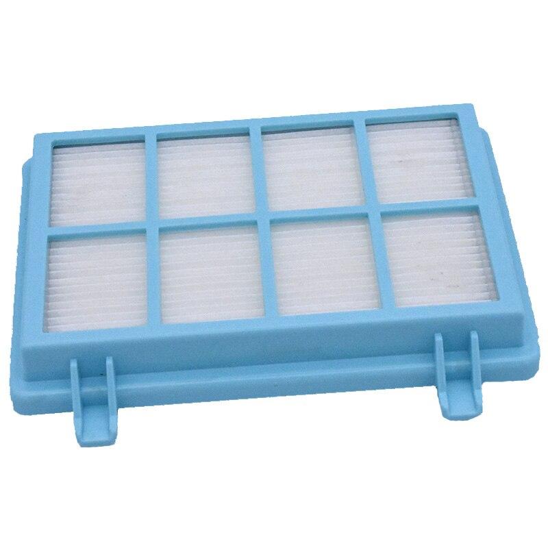 Partes del filtro Hepa para Philips Power Pro Compact FC9331/09 FC9332/09 FC8010/01, accesorios para aspiradoras, filtros de poste azul, 1 unidad