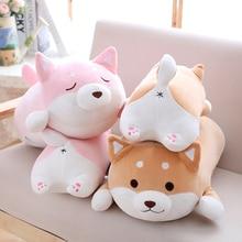 36/55 joli gros Shiba Inu chien en peluche peluche doux Kawaii Animal dessin animé oreiller beau cadeau pour les enfants bébé enfants de bonne qualité