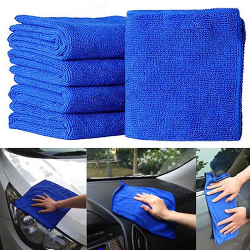 1 Pcs Mikrofaser Reinigung Auto Auto Detaillierung Weiche Tücher Küche Haushalt Handtuch Duster Geschirrtuch 20*20cm