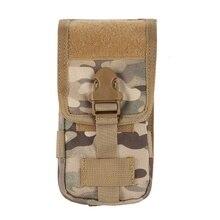 600D tratique housse de téléphone portable Coque militaire tactique camouflage ceinture pochette sac nouveau