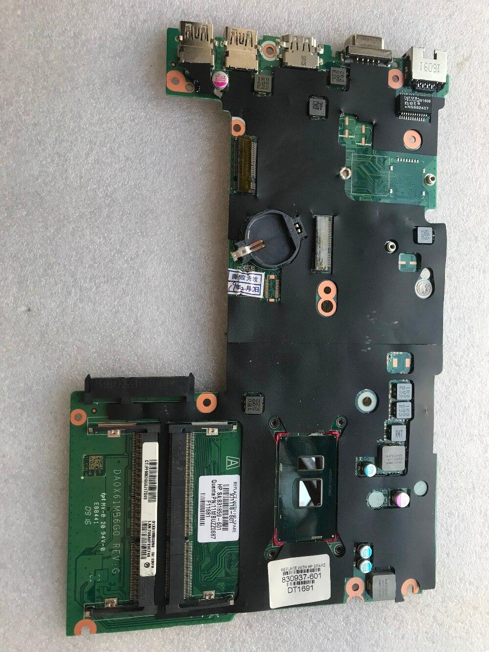 Laptop motherboard para 430 DA0X61MB6G0 G3 440 G3 hp placa principal 830937-601 830937-501 i5-6200U 001 DDR3