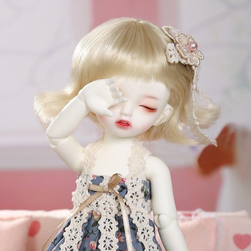Napi Karou Sleeping BJD SD Doll 1/6 YoSD Body Model Baby Girls Boys Resin Toy High Quality Fashion Shop Luodoll Fixed-teeth