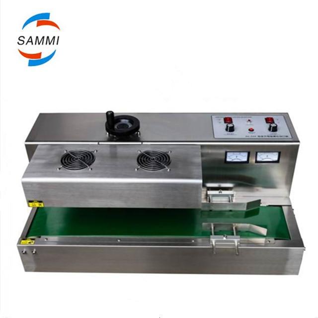 Scelleur dinduction continu dacier inoxydable de bureau, machine de cachetage dinduction électromagnétique