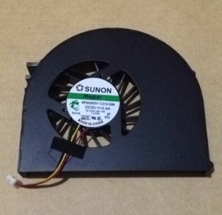MF60090V1-C210-G99 SSEA New CPU Laptop Cooling Fan Cooler para Dell Inspiron 15R N5110 M5110 laptop CPU Fan Frete grátis