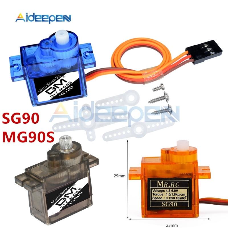 1 шт. SG90 MG90S Mini Micro Servo Для Arduino RC 250 450 6CH дл