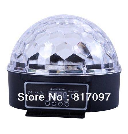 Vente Effets Lumieres 18W Boule Magique Projecteurs LED Effets 6 couleurs Sonner Automatique DMX Maitre-Esclave Eloigne