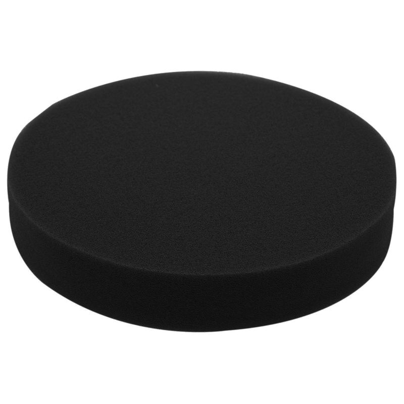 6 inch 150mm Soft Flat Sponge Buffer Polishing Pad Kit For Auto Car Polisher Color:Black