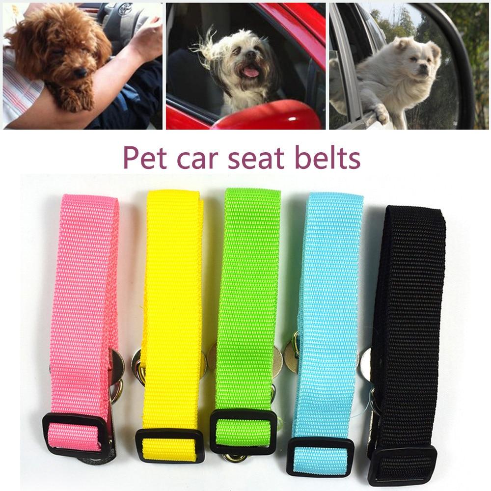 2021 New Adjustable Dog Pet Car Safety Seat Belt Restraint Lead Travel Leash Pet car seat belt Pet accessories Dropshipping