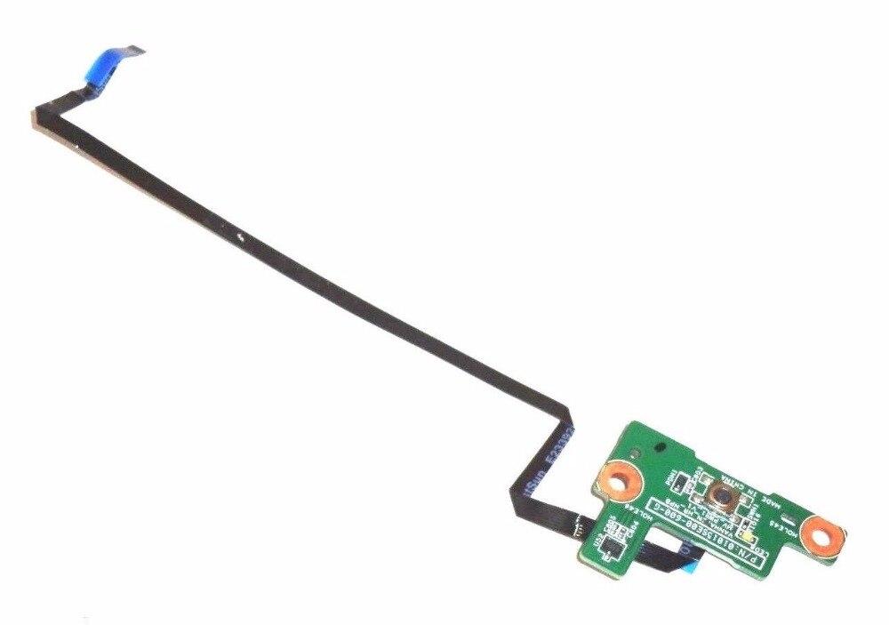 Подлинный для HP для EliteBook 8570W 8560W Кнопка питания плата w кабель 01015SE00-600-G