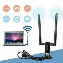 1200Mbps Long Range AC1200 Dual Band 5GHz Wireless USB 3.0 Adattatore WiFi Antenne