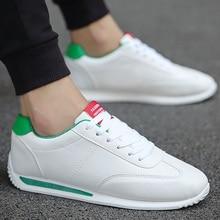 Ayakkabı erkekler rahat beyaz Sneakers erkek sonbahar Unisex Sneakers moda 2020 yeni deri Sneakers erkek spor ayakkabılar