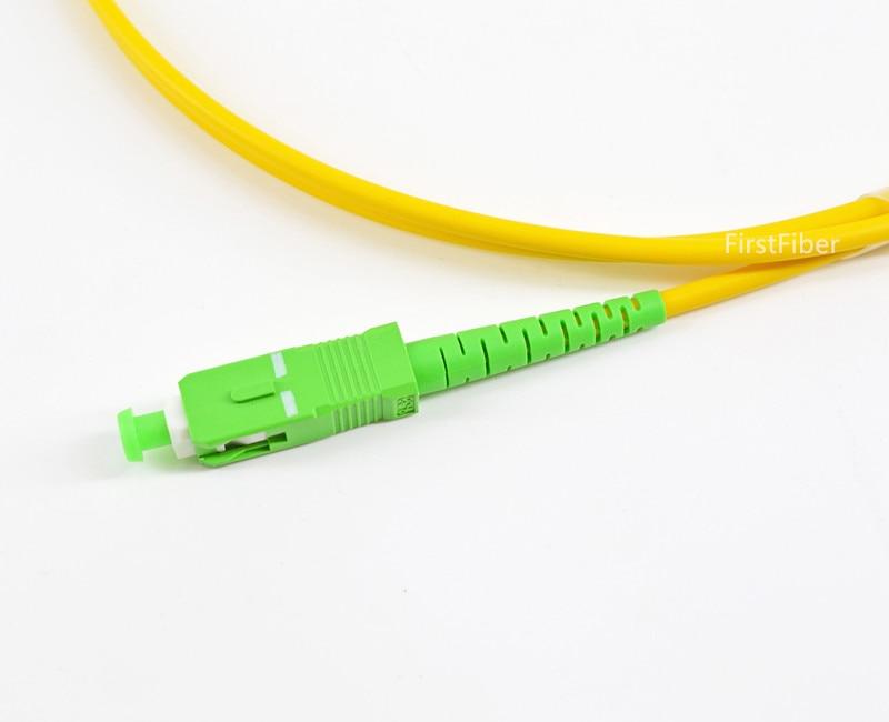 0,5 m SC fibra APC Cable FTTH óptico Cable de parche de...