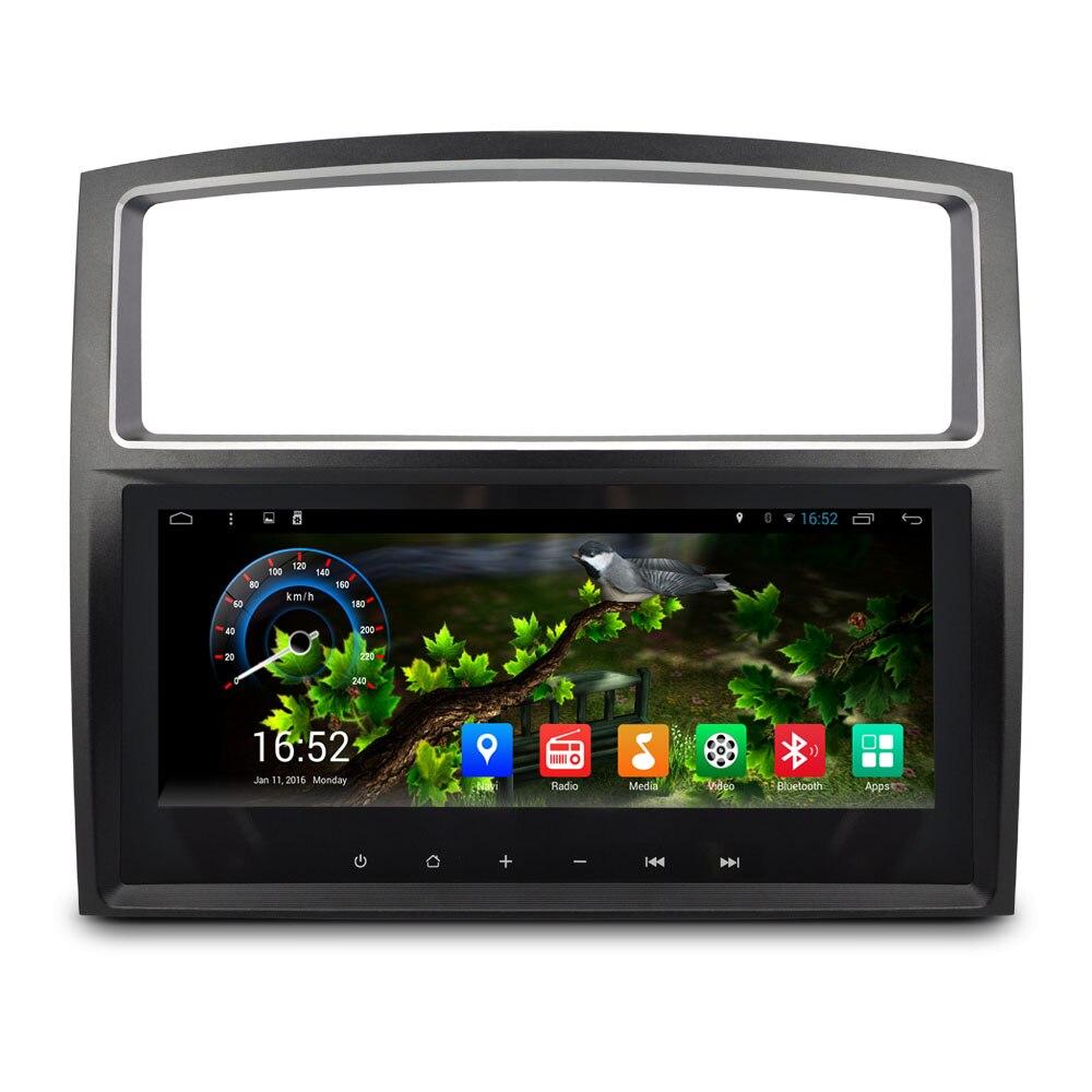 8.8 inch Screen android 4.4 Car DVD Auto Radio for Mitsubishi Pajero GPS Navigation System