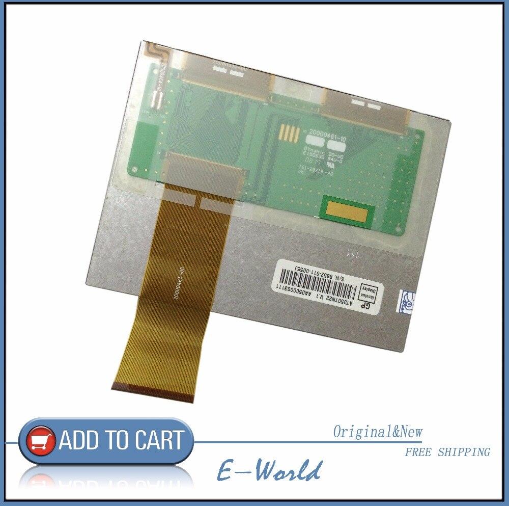 Original 5,0 pulgadas TFT LCD pantalla Digital AT050TN22 V.1 AT050TN22 V1 VGA 640 (RGB) * 480 envío gratis