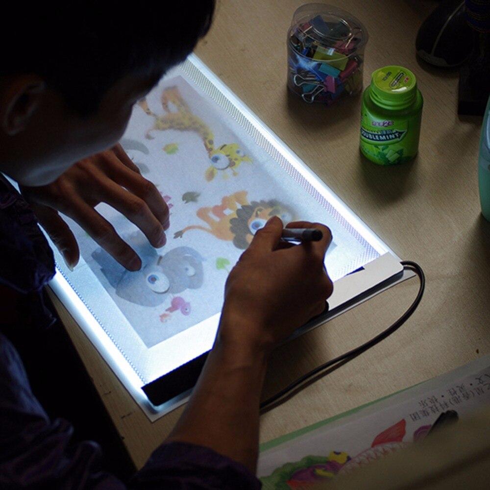 Ультра тонкий 3,5 мм световой планшет, алмазная вышивка А4 светодиодная световая панель, алмазная живопись А4 светодиодная световая доска