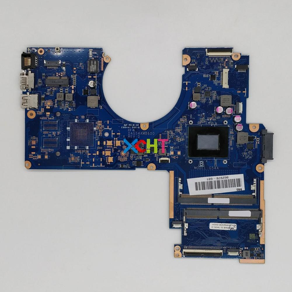 for HP Pavilion 15 15-AW 15Z-AW000 Series 862978-601 862978-001 DAG54AMB6D0 w A12-9700P PC NoteBook Laptop Motherboard Tested