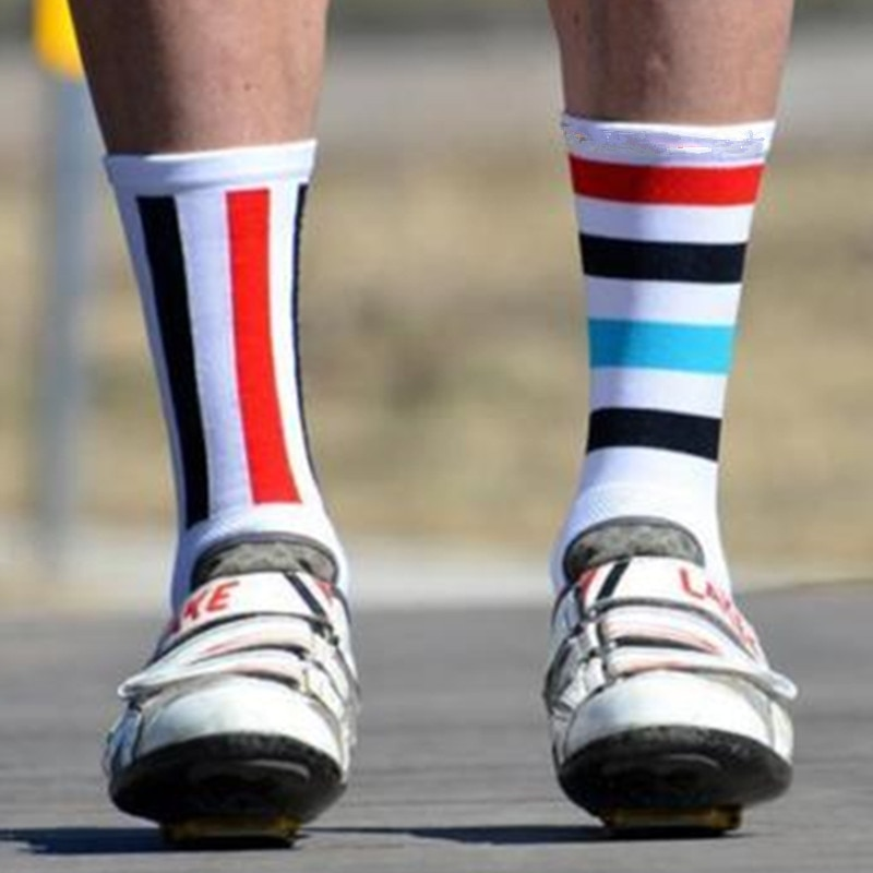 Compressprint calcetines de ciclismo para hombre, deportes de montaje al aire libre, calzado para bicicleta de carretera, calcetines para correr, calcetines deportivos