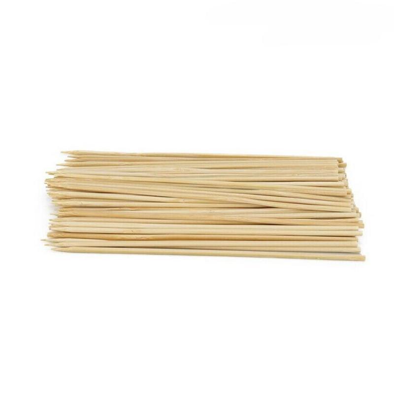 90pcs Bamboo Skewers Grill Shish Kabob Wood Sticks Barbecue BBQ Tools  BBQ Sticks