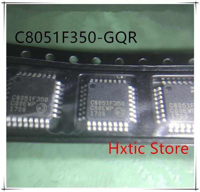 10 pçs/lote C8051F350-GQR C8051F350-GQ C8051F350 LQFP-32 microcontrolador