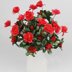Artificial buquê de flores artificiais simulação de azalea saffolder casa decoração de casamento dig wy507