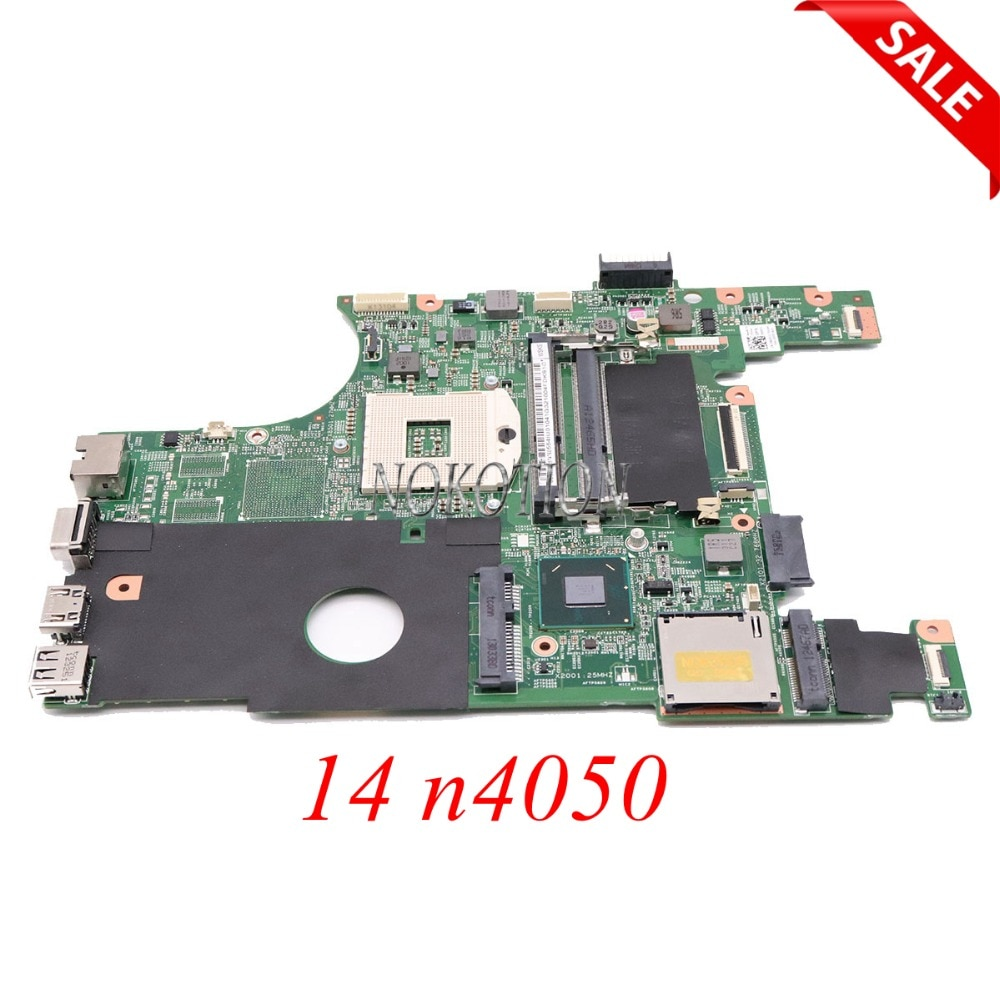 NOKOTION CN-0X0DC1 0X0DC1 X0DC1 اللوحة المحمول لديل انسبايرون 14 n4050 HM67 UMA DDR3 الرئيسي مجلس اختبار كامل