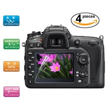 (4pcs, 2pack) LCD Guard Film Screen Display Protector for Nikon Coolpix P7800  Digital Camera