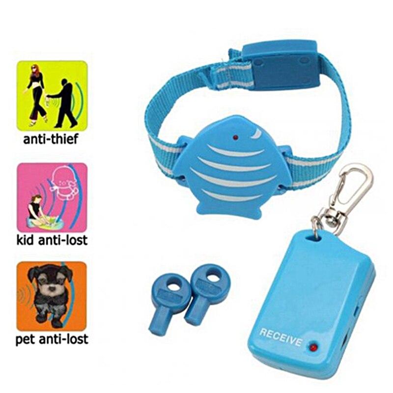 Estilo de pesca inalámbrico Anti-Pérdida alarma recuperando localizador Personal seguridad Monitor para niños buscador de llaves herramientas de seguridad al aire libre