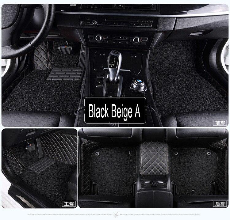 """""""Alfombrillas de coche para Toyota Camry Corolla Prius Prado Highlander Sienna zelas, revestimientos de diseño para todo tipo de clima para coche"""""""