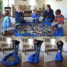 1.5M Kids Play Mat Speelgoed Opbergzakken Oversized Schoon-Up Organizer Spelen Mat Duurzaam Opbergtas Outdoor Gebouw blokken Mat