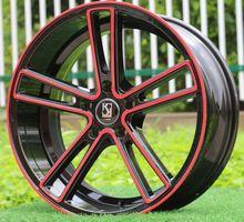 New 18 Inch 18x8.0 5x108  5x112 5x114.3 5x120  car alloy wheel rims fit for Audi Volkswagen BMW Honda Mercedes Peugeot