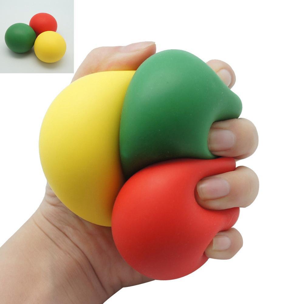 Low Resistance Stress Reliever Ball Autism Finger Fidget Exercise Toys Wrist Finger Exerciser Trainer