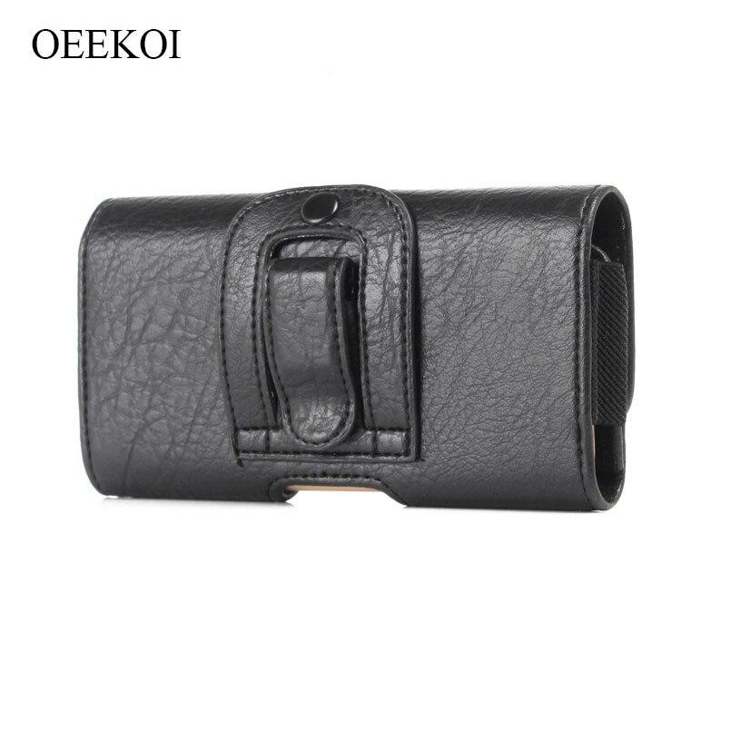Patrón de piedra PU bolso de cuero de la cintura de la correa de bolsillo de labios funda de teléfono para Keneksi Storm/Hemera/elección /libertad/Sigma/ámbar