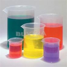 5 Größen/packs Kunststoff Transparent Labor Test Messbecher Absolvierte Becher Behälter Flüssigkeit Messbecher Labormaterial