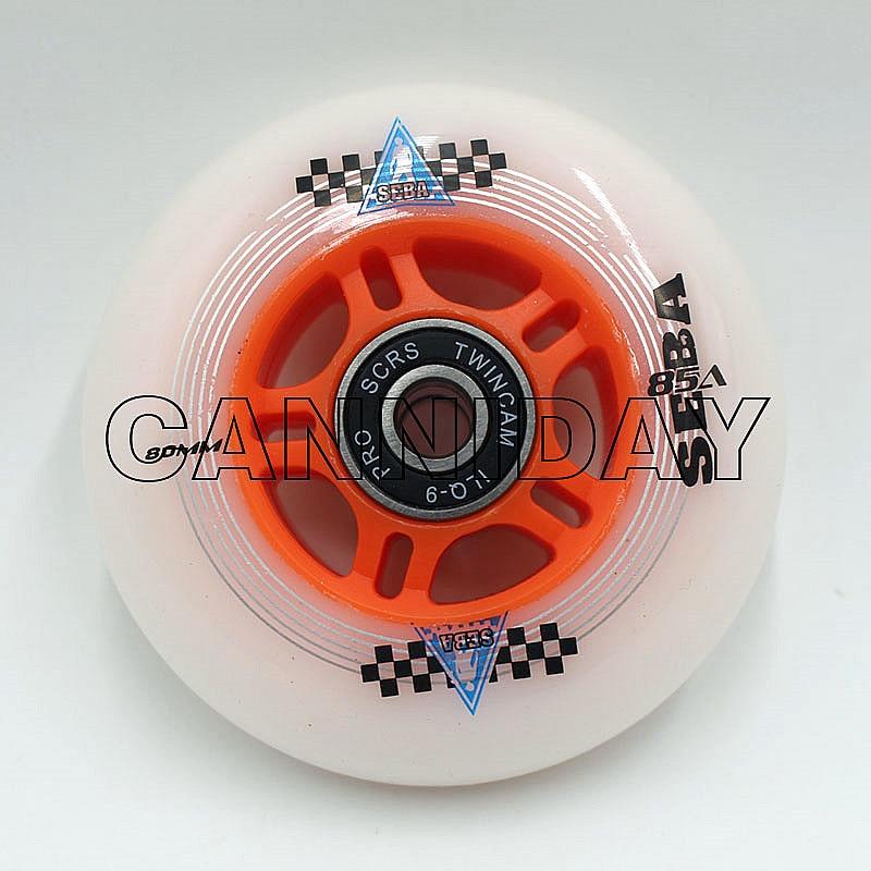 4 Uds. 72/76/80mm ruedas de patines SEBA con rodamientos TWINCAM ILQ-9 85A accesorios de skate