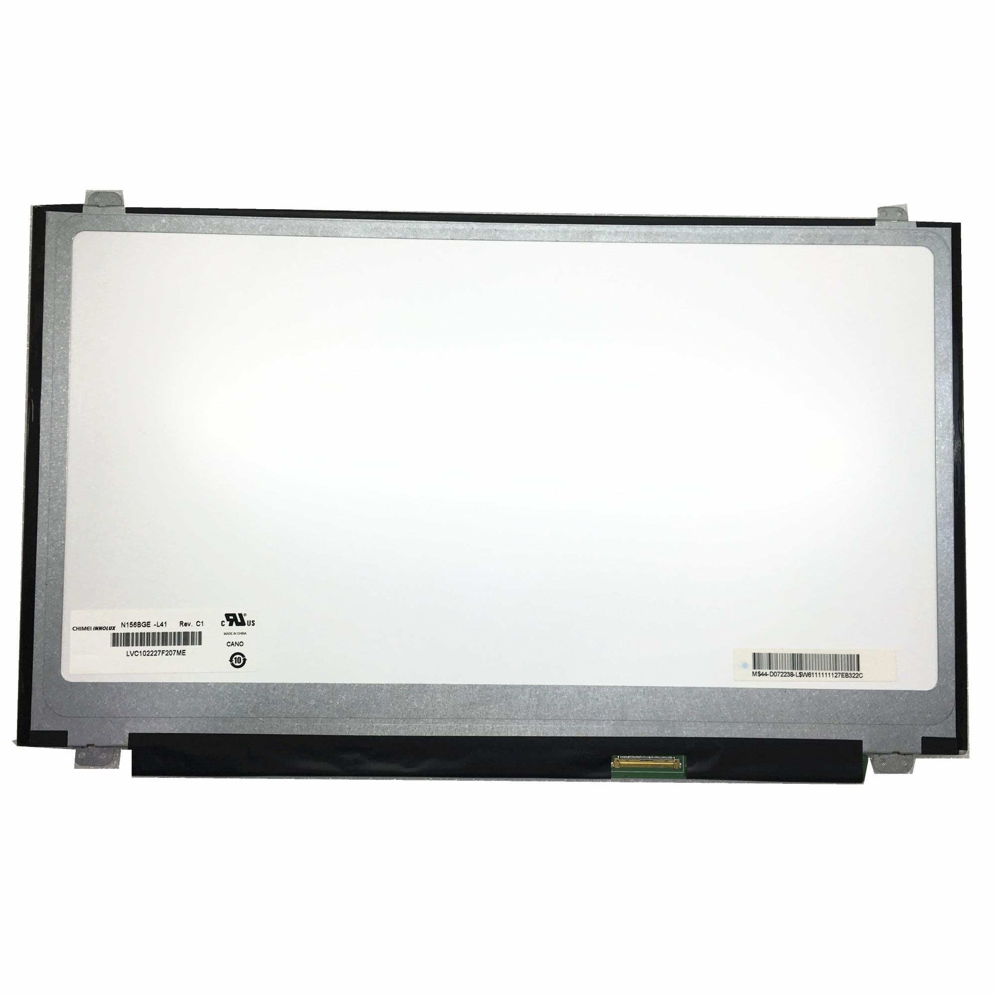 Frete grátis N156BGE-L41 N156BGE-L31 ltn156at30 p01 ltn156at20 h01 w01 LP156WH3-TLSA portátil tela lcd 1366*768 lvds 40pin