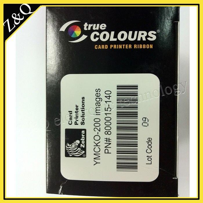 Cinta de Color Original barata Zebra 800015-140 YMCKO para las impresoras P300C, P310C