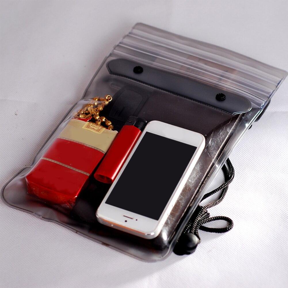 Bolsa de armazenamento para celular, carteiras ecológicas para festival songkran, à prova de poeira, seca e à prova dágua, para praia