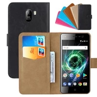 luxury wallet case for bq bq 5009l trend pu leather retro flip cover magnetic fashion cases strap