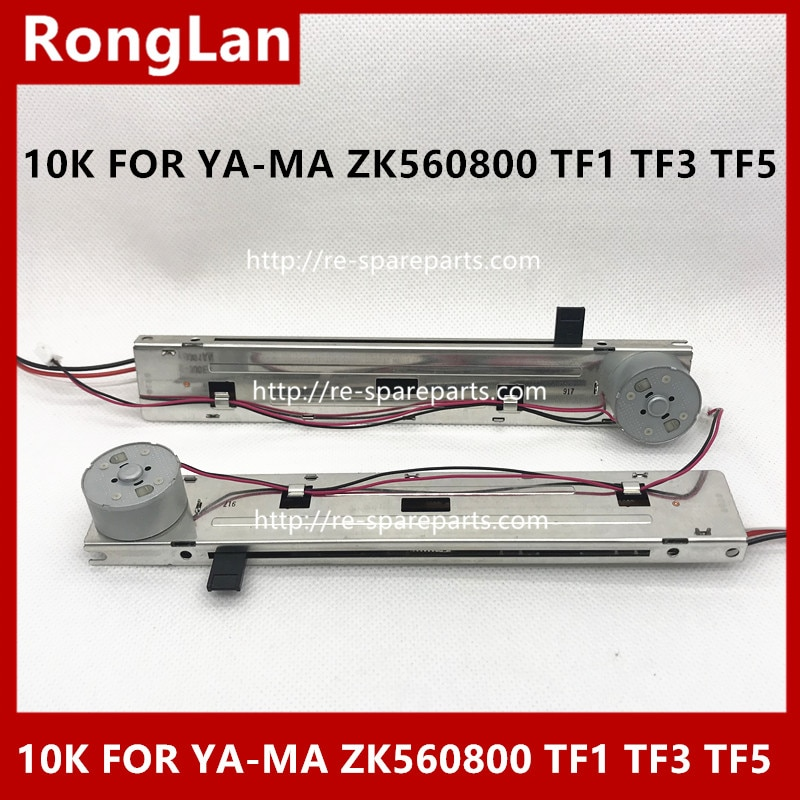 ALPS SLIDE CHANNEL FADER VARIABLE RESISTOR POTENTIOMETER Lateral adjustment 10K FOR YA-MA ZK560800 TF1 TF3 TF5-5PCS
