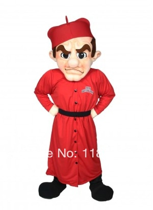 التميمة رجل قزم مهرج زي التميمة بدلة فاخرة مخصصة أنيمي تأثيري أطقم mascotte موضوع فستان بتصميم حالم كرنفال زي