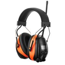 Elektronische Bluetooth Ohrenschützer NRR 25dB Gehörschutz BIN FM Radio Kopfhörer Noise Cancelling Einstellbare Schießen Gehörschutz