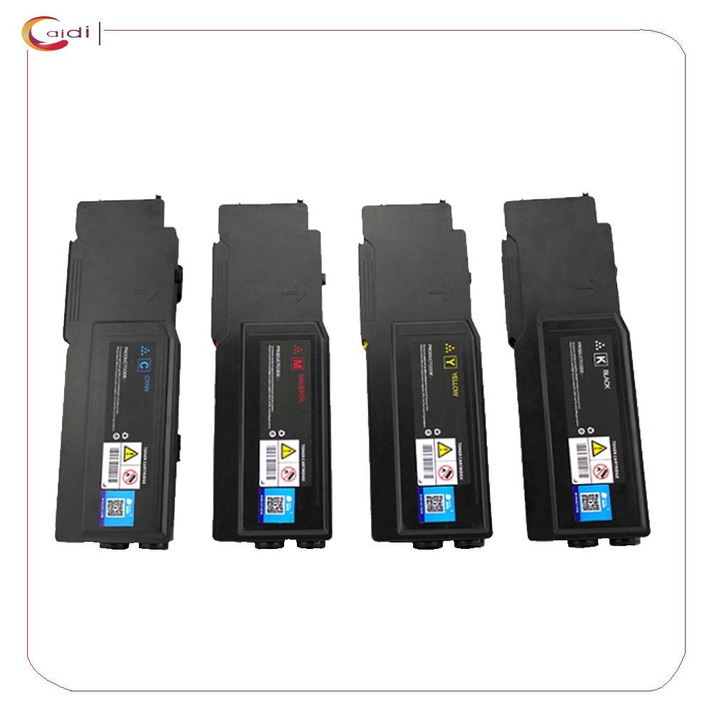 Compatível para Dell 4-pack de Cartuchos de Toner – 593-bbbu 593-bbbt 593-bbbs 593-bbbr C2660 C2660dn C2665dn C2665dnf C2665