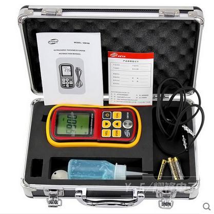 GM100 LCD Digital Ultraschall Dicke Gauge Tester Tiefe Gauge Sound Velocity Meter Reichweite 1.2 ~ 220mm