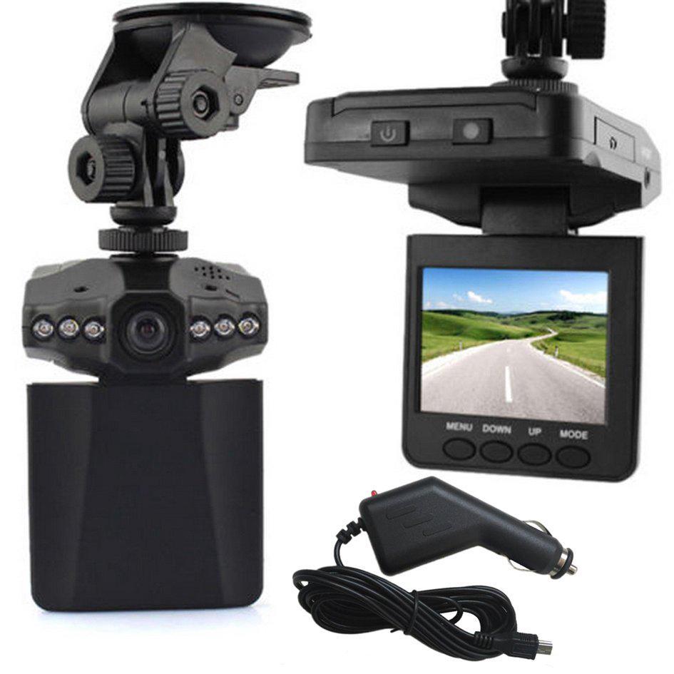 2,5 pulgadas 270 grado HD LCD de la cámara del coche DVR de la 6 LED IR tráfico grabadora de Video Digital tacógrafo plegable Monitor DVR para Auto 5
