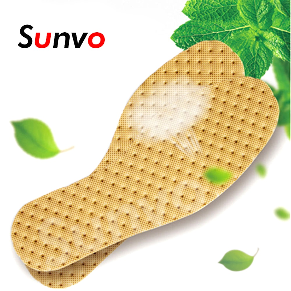 5 pairs health deodorant insoles light weight shoes pad absorb sweat breathable mesh cloth shoe inserts men women Sunvo Deodorant Insoles for Foot Odor Light Weight Sweat-absorbent Breathable Shoes Pads Sole Inserts Men Women Insole