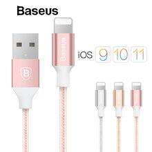 Câble USB Baseus pour iPhone X 8 5 5 s 6 s 6 7 téléphone portable 2A câble de charge rapide câble de synchronisation des données câble de chargeur pour IOS 8 9 10 11