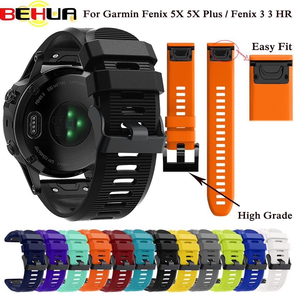 26 мм 22 мм 20 мм ремешок для часов для Garmin Fenix 5X 5 5S Plus 3 3 HR Forerunner 935 945 ремешок для часов быстросъемный легкий ремешок для запястья