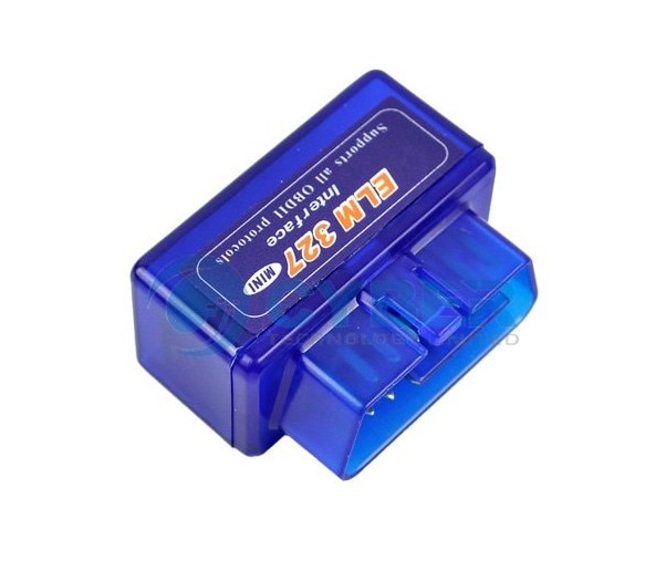 Mini Elm327 Obd2 Diagnostic Scanner Tool with Blue Hot in Rus