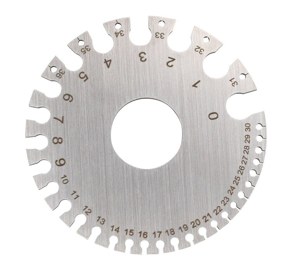 Инструменты для сварки из нержавеющей стали, измеритель диаметра сварки, индикатор диаметра сварочной проволоки, измерительный прибор, инс...