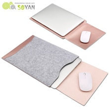 Fashion Laptop Bag Felt Universal Notebook Case Pouch For Apple Macbook Air Pro Retina  12 13 15 bag for macbook air 13 case